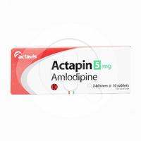 Actapin Tablet 5 mg (3 Strip @ 10 Tablet)
