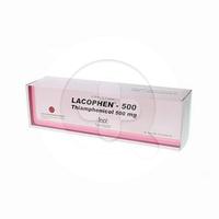 Lacophen Kapsul 500 mg (1 Strip @ 10 Kapsul)