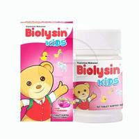Biolysin Kids Strawberry Tablet (1 Botol @ 30 Tablet)