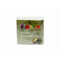 Fiesta Kondom Durian (1 Box @ 3 Pcs)
