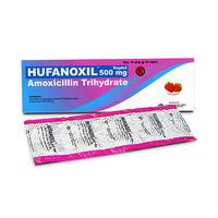 Hufanoxil Kaplet 500 mg (10 Strip @ 10 Kaplet)