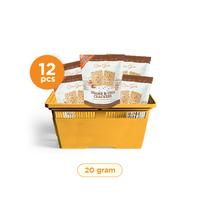Casa Grata - Small Set of 12 Crackers A - Same Flavour 20 g - 12 Sesame & Chia