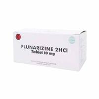 Flunarizine Tablet 10 mg (2 Strip @ 10 Tablet)