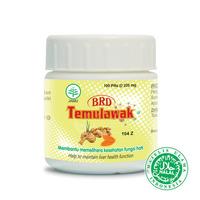 Borobudur Herbal BRD Temulawak Pil (100 Pil)