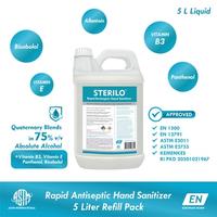 Sterilo Rapid Antiseptic Hand Sanitizer 5 Liter - Refill