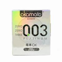 Okamoto Kondom Platinum 0.03 (3 Pcs)