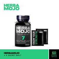 Herbamojo Kapsul (1 Botol @ 60 Kapsul) + 2 Sachet Daily