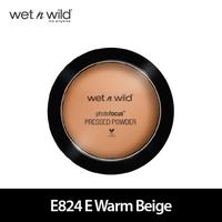 Wet N Wild Photo Focus Pressed Powder E824 E Warm Beige