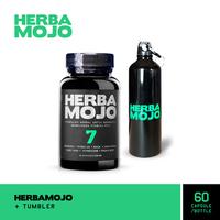 Herbamojo Kapsul (1 Botol @ 60 Kapsul) + Tumbler