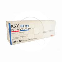 KSR Tablet 600 mg (1 Strip @ 10 Tablet)