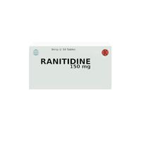 Ranitidine Tablet 150 mg (1 Strip @ 10 Tablet)
