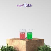 Airtok Parfume Sanitizer 2 Pack (Red + Green)