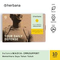 Herbana Balance Madia Immusupport - 10 Kaplet