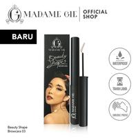 Madame Gie Beauty Shape Browcara - MakeUp Mascara Alis Browcara 03