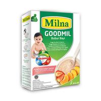 Milna Goodmil Bubur Khusus Peach, Strawberry, Jeruk 8+ - 120 g