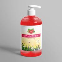 Niv Nature Strawberry Shower Gel 500 ml