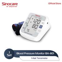 Sinocare Automatic Blood Pressure Monitor / Alat Tensimeter BPM BA-801