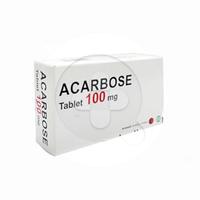 Acarbose Tablet 100 mg (1 Strip @ 10 Tablet)