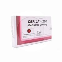 Cefila Kapsul 200 mg (1 Strip @ 10 Kapsul)