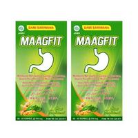 Dami Sariwana Maagfit Kapsul (1 Botol @ 60 Kapsul) - Twinpack
