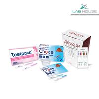 Testpack Strip + Woman Choice Strip + Sensor Diagnostic