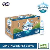 Crystalline Mineral Water 330 mL - (1 Karton Isi 24 Pcs)