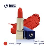 Inez Color Contour Plus Lipstick - Flame Orange