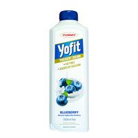 Yummy Yofit Yoghurt Drink Blueberry 2 x 1 Liter