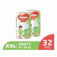 Huggies Gold Pants Popok Celana XXL 32 (2 Pack)