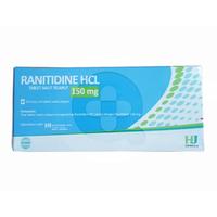 Ranitidine Hexpharm Tablet 150 mg (1 Strip @ 10 Tablet)