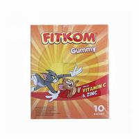 Fitkom Gummy Vitamin C and Zinc (1 Box @ 5 Sachets)
