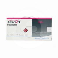 Aprovel Tablet 300 mg (1 Strip @ 14 Tablet)