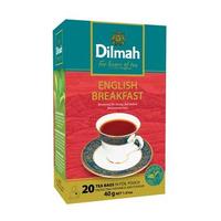 Dilmah English Breakfast Tea (Tag Tbag 20s)