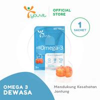 Youvit Multivitamin Gummy Omega-3 Dewasa 7 Days - 7pcs