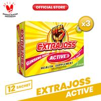 Extra Joss Active B7 3 Pack (36 Sachet)
