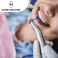Dental Spa Paket A (Oral Check & Consultation, Scalling, Polishing) - Klinik Holicare