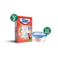 Buy 2 Zee Reguler Vanilla Twist Milk 350 g - Free Lock & Lock
