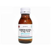 Ambroxol Bernofarm Sirup 15 mg/5 mL - 60 mL