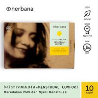 Herbana Balance Madia Menstrual - 10 Kaplet