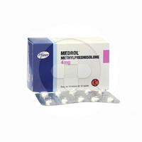 Medrol Tablet 4 mg (1 Strip @ 10 Tablet)
