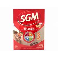 Sgm Eksplor 3+ Susu Bubuk Anak Usia 3-5 Tahun Rasa Coklat Box - 900 g