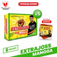 Extra Joss Laki Mangga 5 Pack (30 Sachet) FREE Masker