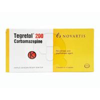 Tegretol Tablet 200 mg (1 Strip @ 10 Tablet)