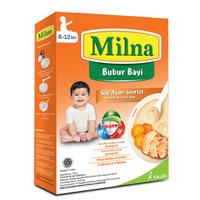 Milna Bubur Reguler 6 Bulan Sup Ayam Wortel 120 g