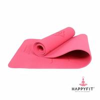 Happyfit Yogamat TPE 6 mm - Hot Pink