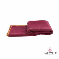 Happyfit Yogamat Towel - Maroon