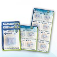 PLUG Nasal Filter Mix F 5 Pack (3 Pack @ 2 Pcs, 1 Pack @ 4 Pcs, & 1 Pack @ 8 Pcs)