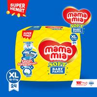 Mamamia Soft Popok bayi Tipe celana XL 24+2