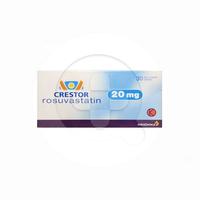 Crestor Tablet 20 mg (1 Strip @ 15 Tablet)