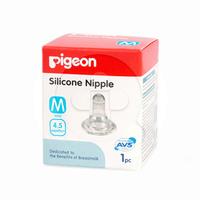 Pigeon Dot Silicone Nipple (M)